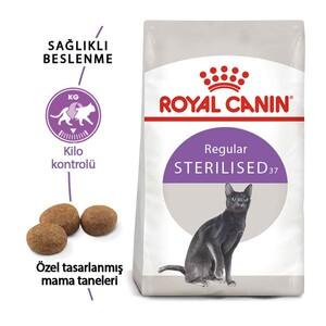 Royal Canin Sterilised Kısırlaştırılmış Kedi Maması 2 KG - Thumbnail