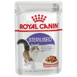 Royal Canin - Royal Canin Sterilised Gravy Kısırlaştırılmış Kedi Konservesi 85 GR