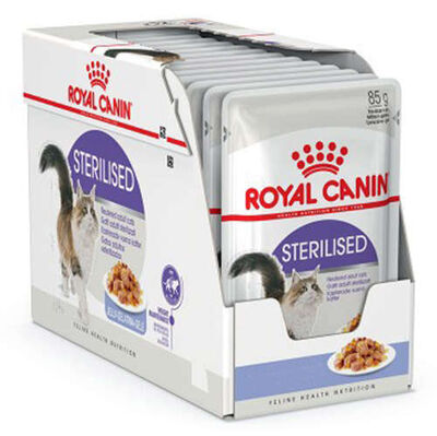 Royal Canin Kısırlaştırılmış Kediler İçin Gravy Kedi Yaş Maması 85 GR * 12 ADET