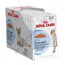 Royal Canin - Royal Canin Ultra Light Kedi Diyet Konservesi 85 GR ( 12 Adet )