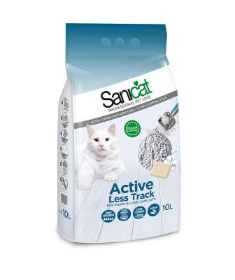 Sanicat Active Marsilya Sabunlu Kalın Taneli Kedi Kumu 10 LT