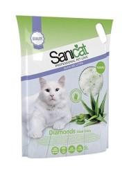 Sanicat - Sanicat Aloe Veralı Kristal Kedi Kumu 5 LT