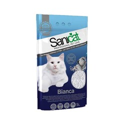 Sanicat Bianca Ultra Emici Kedi Kumu 5 LT - Thumbnail