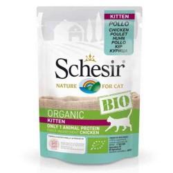Schesir - Schesir Bio Range Pouch Yavru Kedi Konservesi 85gr