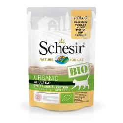 Schesir - Schesir Bio Range Tavuklu Pouch Kedi Konservesi 85gr