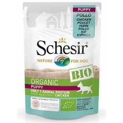 Schesir - Schesir Bio Range Tavuklu Pouch Yavru Köpek Konservesi 85 Gr