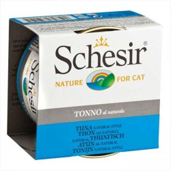Schesir - Schesir Doğal Ton Balıklı Yaş Kedi Maması 85 GR