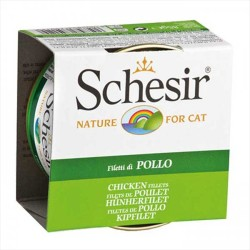 Schesir - Schesir Tavuk Filetolu Yaş Kedi Maması 85 GR
