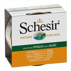 Schesir - Schesir Ton Balığı Ve Aleoveralı Yaş Köpek Maması 150 GR