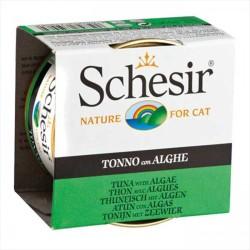 Schesir - Schesir Ton Balığı ve Deniz Bitkili Yaş Kedi Maması 85 GR