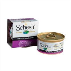 Schesir - Schesir Ton Balığı ve Sığır Etli Yaş Kedi Maması 85 GR