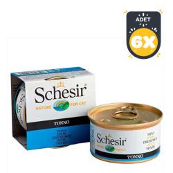 Schesir - Schesir Ton Balıklı Yaş Kedi Maması 85 GR * 6 Adet