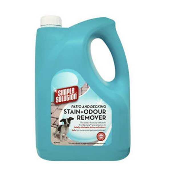 Simple Solution Outdoor Köpekler İçin Leke ve Koku Giderici Sprey 4 LT