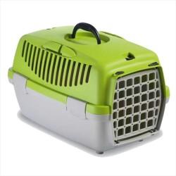 StefanPlast - Stefanplast Gulliver 1 Kedi Ve Köpek Taşıma Çantası Yeşil/Gri