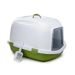 StefanPlast - Stefanplast Kapalı Kedi Tuvaleti Yeşil