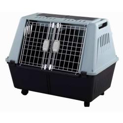M Pets - Strong Araç İçi Tekerlekli Köpek Taşıma Kafesi 82x51x67