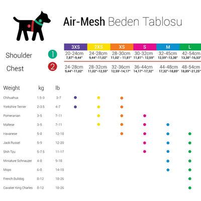 TailPetz Köpek Yeleği Siyah X-Small