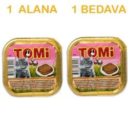 Tomi - Tomi Dana Etli Kedi Konservesi 100 Gr ( 1 Alana 1 Bedava )