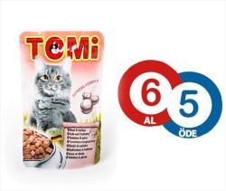 Tomi - Tomi Danalı Ve Hindili Yaş Kedi Maması 100Gr 6 Al 5 Öde