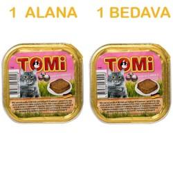 Tomi - Tomi Karidesli Kedi Konservesi 100 Gr ( 1 Alana 1 Bedava )