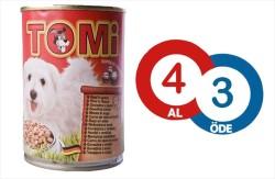 Tomi - Tomi Sığır Etli Köpek Konservesi 400 GR * 4 Adet