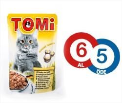 Tomi - Tomi Tavşanlı ve Kanatlı Yaş Kedi Maması 100Gr 6 Al 5 Öde