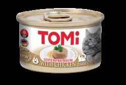 Tomi - Tomi Tavuklu Kedi Konservesi 85 Gr 12 Li