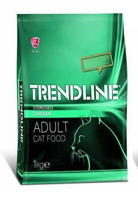 Trendline Tavuklu Kısırlaştırılmış Kedi Maması 1 KG