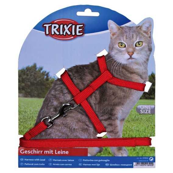 Trixie Kedi Göğüs Tasma Seti 22-42cm/10mm