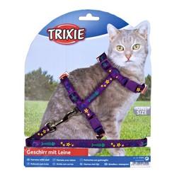 Trixie Kedi Göğüs Tasması Seti 22-36cm/10mm - Thumbnail