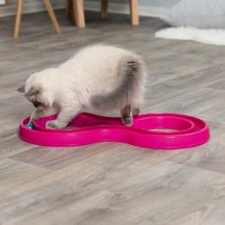 Trixie - Trixie Kedi Oyuncak, Top Kovalama, 65cmx31cm Pembe