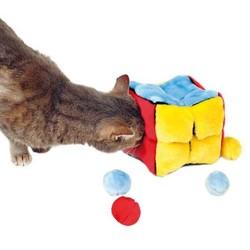 Trixie - Trixie Kedi Peluş Oyuncak Küp Ve Topları
