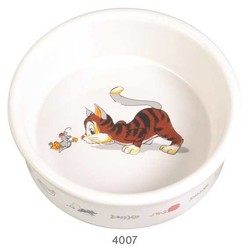 Trixie - Trixie Kedi Seramik Mama Su Kabı, 0,2Lt/11cm