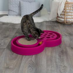 Trixie - Trixie Kedi Tırmalama Ve Oyuncak, 60cmx33cm, Pembe