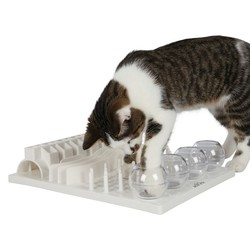 Trixie Kedi Zeka Oyuncağı, 30×40 cm, Beyaz - Thumbnail