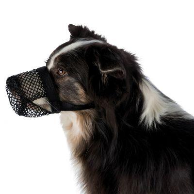 Trixie Köpek Ağızlığı, S-M, Siyah