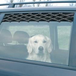 Trixie - Trixie Köpek Araba Camı Parmaklığı, 24-70cm,Siyah