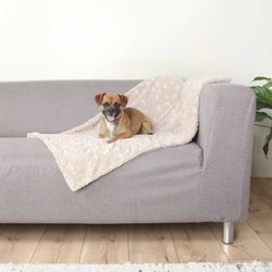 Trixie - Trixie Köpek Battaniye, 100X70cm, Bej