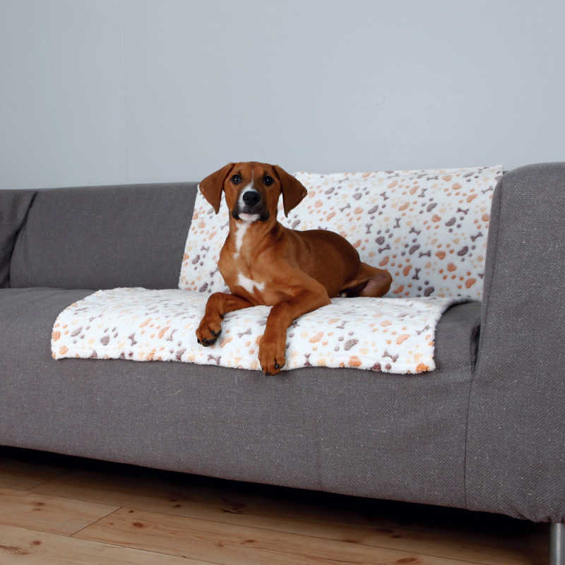 Trixie Köpek Battaniyesi 100X75cm Beyaz/Bej