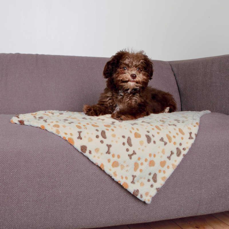 Trixie Köpek Battaniyesi 75X50cm Beyaz/Bej