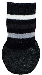 Trixie - Trixie Köpek Çorabı, Kaymaz, L-XL, 2 Adet, Siyah