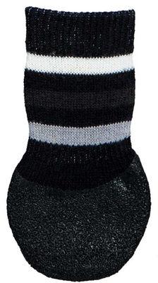 Trixie Köpek Çorabı, Kaymaz, L-XL, 2 Adet, Siyah