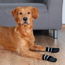 Trixie - Trixie Köpek Çorabı, Kaymaz, XL, 2 Adet, Siyah