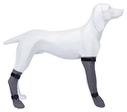 Trixie - Trixie Köpek Çorabı, Su Geçirmez, L:10cm/40cm Gri