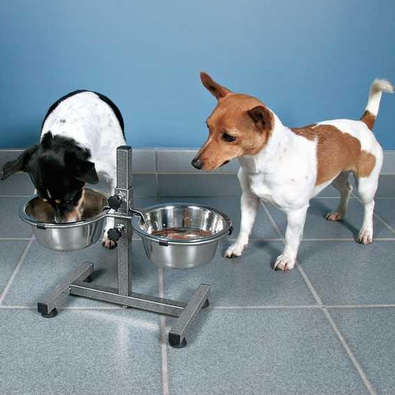 Trixie Köpek Mama&Su Kabı,Ayaklı, 2×1,8 L/Ø 20cm
