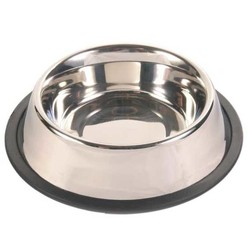 Trixie - Trixie Köpek Paslanmaz Çelik Mama Kabı 0,45Lt 14cm