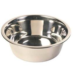 Trixie - Trixie Köpek Paslanmaz Çelik Su Kabı, 2.8 L/Ø24 cm
