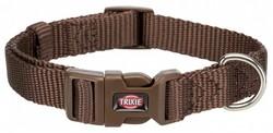 Trixie - Trixie Köpek Premium Boyun Tasması XXS-XS Mokka