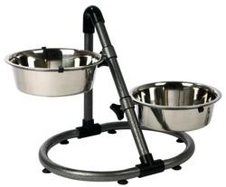 Trixie - Trixie Köpek Yükseklik Ayarlı Mama Su Kabı 2X2,8Lt