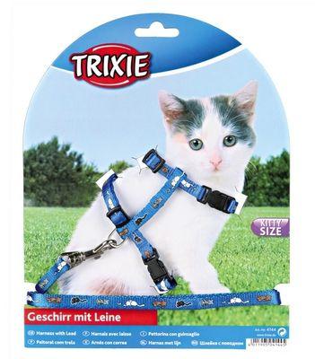 Trixie Yavru Kedi Göğüs Tasması Seti, 21-34cm/8mm